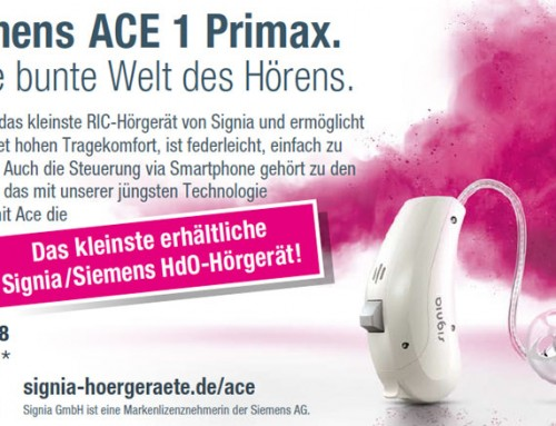 Signia Siemen ACE E1 Primax